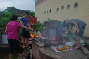 Rituals Continue, Chinese Hungry Ghost Festival