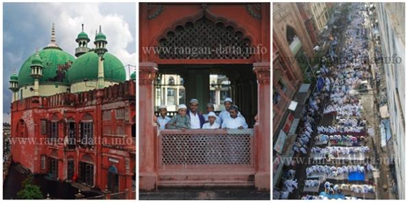 Eid - ul - Fitr, Nakhoda Masjid (Mosque), Calcutta (Kolkata)