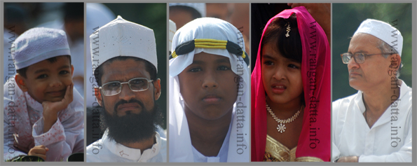 Faces, Eid - ul - Fitr, Calcutta (Kolkata)
