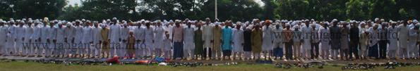 Eid - ul - fitr Namaz, Red Road, Kolkata Maidan