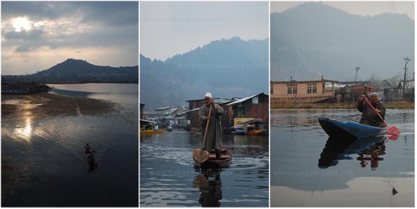 Moods of Dal Lake, Srinagar, Jammu and Kashmir (J&K)