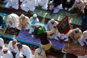 Top View, Eid - ul - Fitr, Nakhoda Masjid, Kolkata