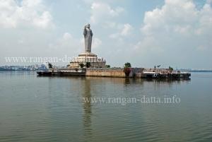 Giant Buddha Statue, Hussain Sagar, Lumbini Park, Hyderabad
