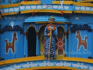 Mahishdal Rath Decorations