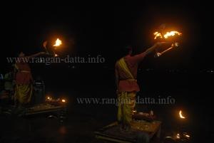 Sandhya Arati, Bagbazar Ghat, Calcutta (Kolkata)