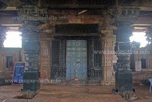 Ramappa Temple, Interior