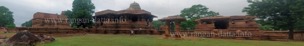 Panoramic view of Ramarappa Temple Complex, Palampet, Warangal