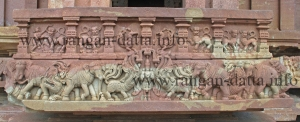 Elephant Sculptures, Ramappa Temple