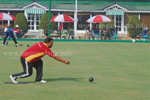 Rolling of the woods, Lawn Bowls