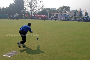 Off the Mat, Lawn Bowls