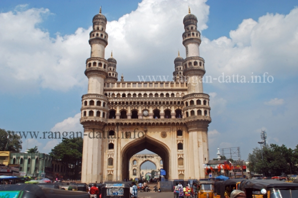 Charminar, Hyderabad (view from the southern side)