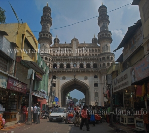 Charminar (view from Western side)