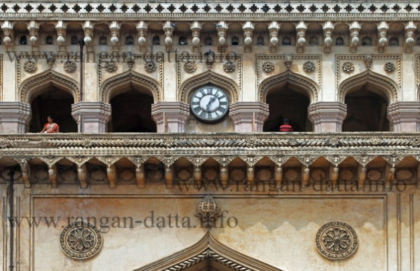 Charminar, Hyderabad (close up of intricate details)