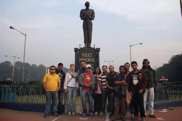 Walability study of Calcutta Maidan, Group Photo (Photo Courtesy: Calcutta Walks)