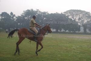 Mounted Police, Calcutta Maidan
