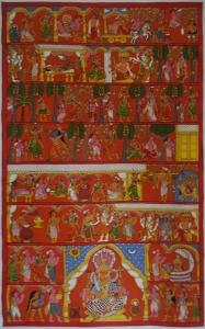 Cherial Scroll Paintings