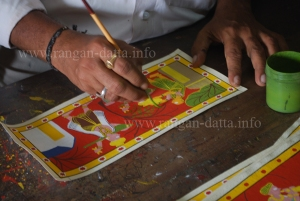 Cherial Painting, final touches
