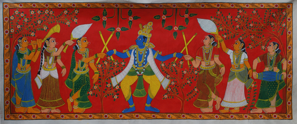 Scroll Paintings Famous In Warangal