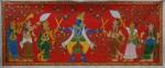 Cherial Scroll Painting, Cherial, Warangal, Andhra Pradesh