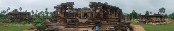 Panorama of Ghanpur Group of Temples, Ghanpur (Mulug), Warangal, Anadhra Pradesh (AP)