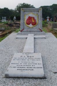 P L Roy's (Father of Indian Boxing) Grave