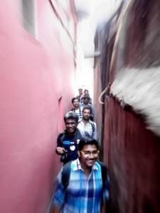 Through the lanes.. (Photo: Aurobindo Dutta)