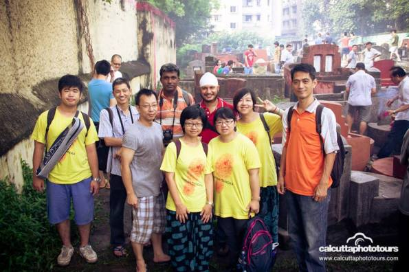 Group Photo at the Choong Ye Thong Cemetery during Hungry Ghost Festival