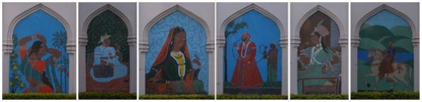Taramati Murals