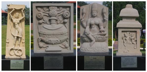 Sculptures at Taramati Complex, Hyderabad