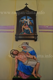 Cross Stations XIII, Portuguese Church, Calcutta (Kolkata)