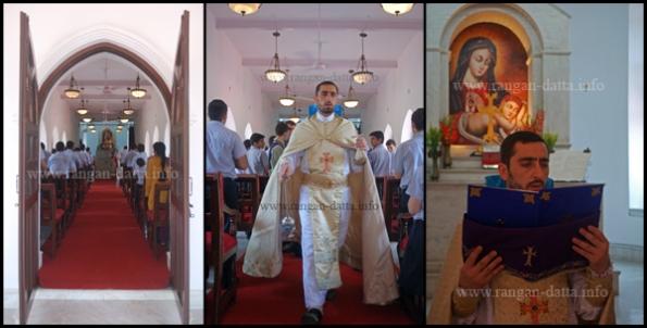 Sunday Mass at Holy Trinity Armenian Church, Tangra