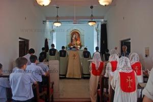 Sunday Mass at Holy Trinity Church, Tangra