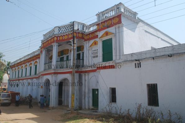 Sarkarl Rajbari (Mansion), Surul, Shantiniketan, Birbhum