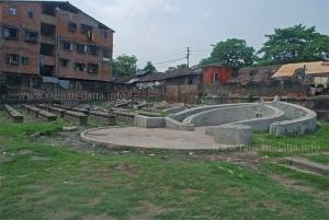 Geehing Cemetery, Tangra, New Chinatown, Calcutta (Kolkata)