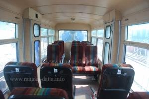 Inside DHR first class coach