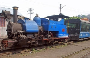 Steam Locomotive of Darjeeling Himalayan Railway (DHR)
