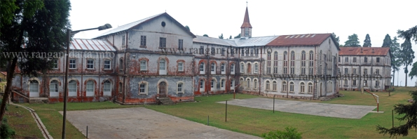 Panoramic View of the Forest Ranger College, St. Mary's Hill, Kurseong