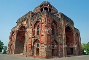 Khan - i Khanan's Tomb (Diagonal View)