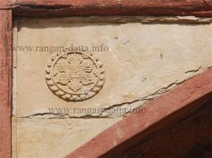 A floral motif at Khan i Khanan's Tomb