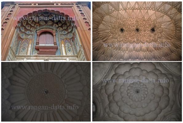 Decorative Plaster work at Safdarjung Tomb, Delhi