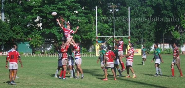 Action between CCFC and Jungle Crows, Calcutta Cup Final 2014