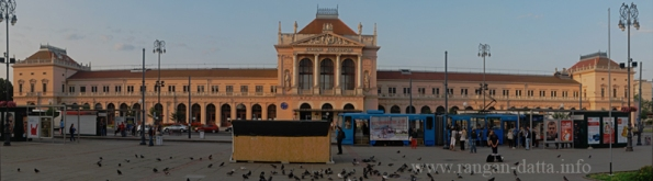 Galvni Kolodvor (Main Station), Zagreb, Croatia