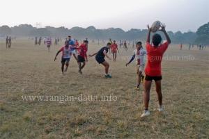 Training Session of Jungle Crows, Calcutta Maidan