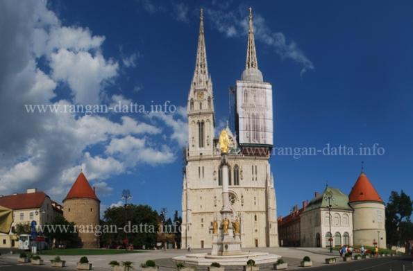Zagreb Cathedral, Kaptol, Zagreb, Croatia