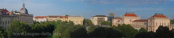 Zagraeb Station Complex from Hotel Esplanade, Zagreb, Croatia