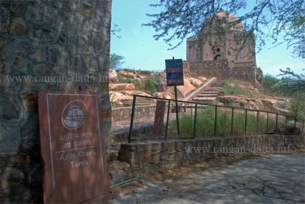 Azim (Aka: Akbar) Khan's Tomb, Mehrauli, Delhi