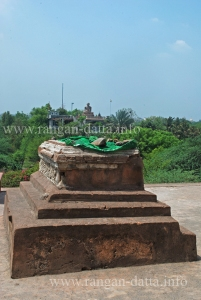A grave in Azim Khan's Tomb Complex