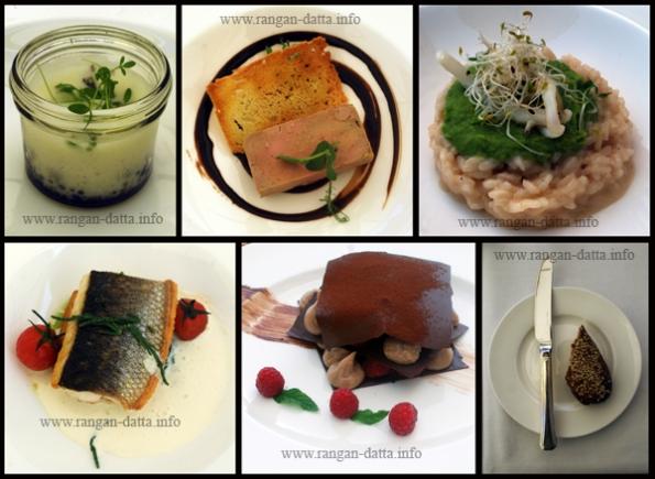 Food at Hotel Esplanade, Zagreb
