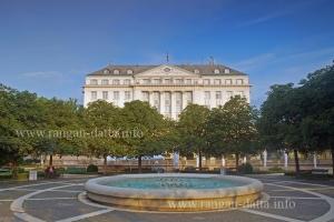 Hotel Esplanade, Zagreb from the main station (Galvni Kolodvor)