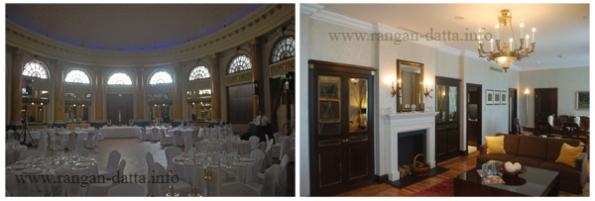 Hotel Esplanade Interior (L: Emerald Ball Room, R: A Suit)